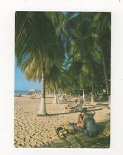 Aruba Relaxing Under The Palm Trees 2000 Postcard 480a