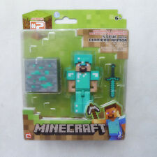 "Minecraft Overworld 3-4"" Collection Action Diamond Steve Minifigure Collection"