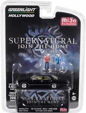 SUPERNATURAL 1967 Chevrolet Impala +Figures Sam + Dean ***Greenlight 1:64