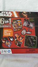 STAR WARS - THE FORCE AWAKENS : 6 In 1 Games inc. Dominoes, Bingo, Starship Rac.