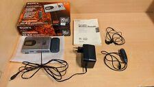 Sony MZ-R35 Portable Minidisc Recorder MD Walkman Metal + Box and Accessories