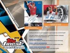2018 Topps Finest Baseball Factory Sealed Hobby Box 12 Packs 2 AUTOS