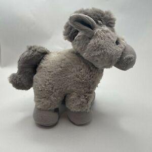 horse brown plush soft toy teddy 20cm stuffed animal children gift doll