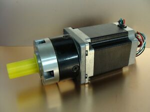 Planetary Gearbox 3.6:1 Ratio fitted Stepper Motor