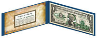 MISSISSIPPI State $1 Bill *Genuine Legal Tender* US One-Dollar Currency *Green*