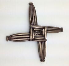 IRISH Bronze St. Brigid's Bridget's Cross Wild Goose Studio Made in Ireland