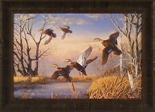 THAT SPECIAL PLACE by Terry Doughty 20x28 FRAMED PRINT Ducks Unlimited 2002