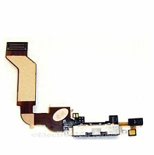 Charging Dock Port Connector Flex Cable for Apple Iphone 4S Charger Black b89