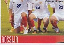 N°439 VIGNETTE PANINI EQUIPE 3/4 RUSSIA EURO 2008  STICKER