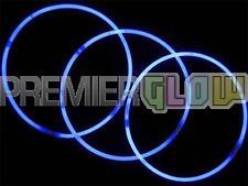 23inch Glow Stick Necklaces Premium Quality Neon Party Favor 6mm Blue(50 pieces)