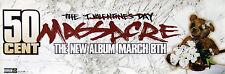 50 Cent 2005 The Massacre Original Promo Poster