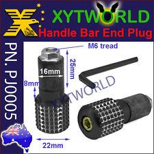 "PJ0005 Handle Bar End Plugs weights Motorcycle 22mm 7/8"" Bars inner dia 16-19mm"