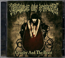 CRADLE OF FILTH cruelty and the beast CD REMASTERED Black Metal