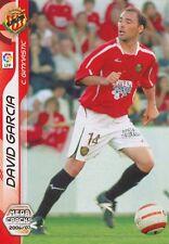 N°151 DAVID GARCIA HARO # CLUB GIMNASTIC CARD PANINI MEGACRACKS LIGA 2007