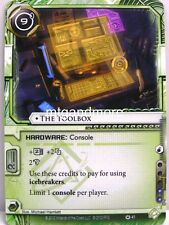 Android Netrunner LCG - 1x The Toolbox  #041 - Cyber War Runner Draft Pack