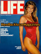 Life Commemorative 2/82,Christie Brinkley,Swimsuit,February 1982,RARE,NEW