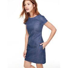 Boden Kleid - Harriet Shift Tunic Dress Denim - Denimkleid Tunika UK 8 R EU 36