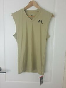 Under Armour Compression Shirt Mens Size XL Heatgear Activewear Workout Tank Top