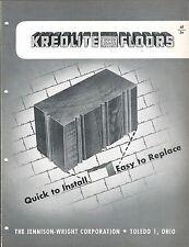 MRO Brochure - Jennison-Wright - Kreolite - Floors - c1952 (MR174)