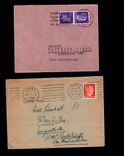 WWII Germany Hitler Head Jumble COLLECTION #6 Covers Rate Combos Slogans etc  6q