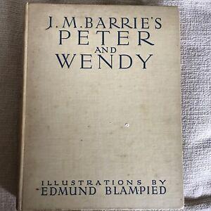 1939*1st* The Blampied Edition Of Peter Pan - J. M. Barrie (Edmund Blampied Illu