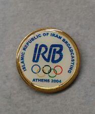2004 ATHENS ISLAMIC REPUBLIC OF IRAN BROADCASTING MEDIA OLYMPIC PIN
