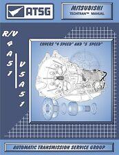 Mitsubishi R4A51 V4A51 V5A51 ATSG CD Repair Rebuild CD Transmission Guide