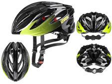 UVEX Sport Rennrad- Fahrradhelm Boss Race black-lime 55-60 cm