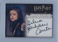 Harry Potter Order Phoenix Helena Bonham Carter Autograph Card
