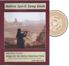 Native American Flute Songbook + CD Spirit Songs #1 Song Book