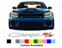 DODGE CHARGER RT Windshield Banner decals, different colors and sizes available.