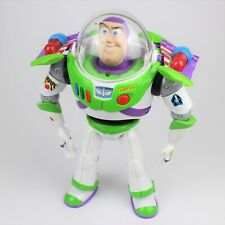 "DISNEY TOY STORY Buzz Lightyear 12"" Talking & Interactive Action Figure - Mattel"
