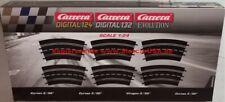 Carrera Evolution Digital 124 3/30 Grad Kurve - 6 Stück (20573)