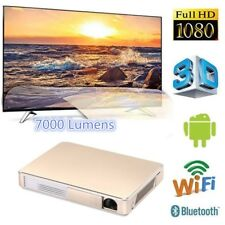 DLP 7000 Lumens Android Wifi 3D Theater Projector 4K HD 1080P Home Cinema HDMI