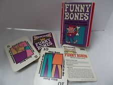 vintage 1968 Parker Bros Funny Bones family card game PERFECT COMPLETE NO CREASE