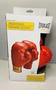 Everlast Adult Advanced Training Boxing Heavy Bag Mitt Gloves sz S  New Open Box
