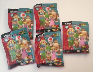 K'nex: Super Mario Blind Bag Mini Figure - Series 8 - LOT OF 5 - BRAND NEW