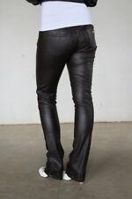 Miss Sixty Lederhose W27 Modell Hally braun Kunstlederhose