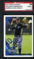 NOAH SYNDERGAARD SGC Autograph 2010 Topps Debut Rookie Hand Signed