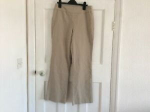 MarlaWynne Flatter Fit Trouser with Mesh Panel SAND Size 14P ( 10 P US)❤