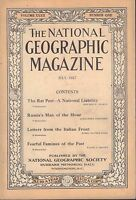 National Geographic Magazine July 1917 Russia's Man of The Hour 030617nonDBE