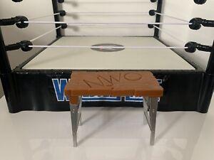 WCW NWO Breakable Table - WWE Wrestling Figure Accessories WWF Mattel Elite