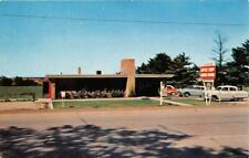 WAVERLY IA 1954 Long Gone Carver's Restaurant with Old Cars VINTAGE  543