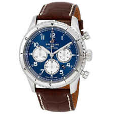 Breitling Aviator 8 Chronograph Automatic Blue Dial Watch AB0119131C1P2