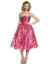 Morris Costumes Adult Women's Disney Cinderella Floral Dress Pink L. DG87027E