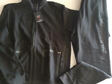 NEW Paul & Shark Yachting Jacket TRACKSUIT Pants Hood Cotton BLACK  4XL