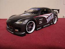 "Jada Mazda  RX8 ""Volk"" logo option D import racer no longer produced Rare 1/24"
