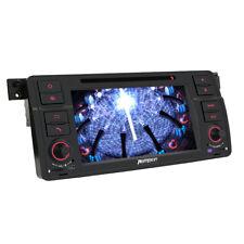 "7"" Car DVD Player Radio Stereo Touchscreen GPS Navigation 3G iPod DVR fr BMW E46"