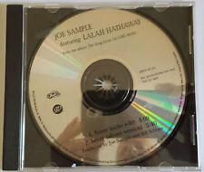 Joe Sample......(Featuring Lalah Hathaway)..Fever......CD Promo Single