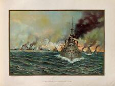 US Navy Naval Battle Santiago Cuba Spanish-American War Kriegsschiff Seeschlacht